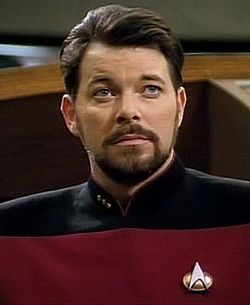 Jonathan Frakes, William Riker, Star Trek Next Generation, fiction