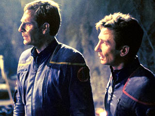 Jonathan Archer, Malcolm Reed, Scott Bakula, Dominic Keating, Star Trek Enterprise