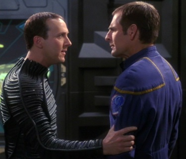 Jonathan Archer, Crewman Daniels, Scott Bakula, Matt Winston, Star Trek Enterprise