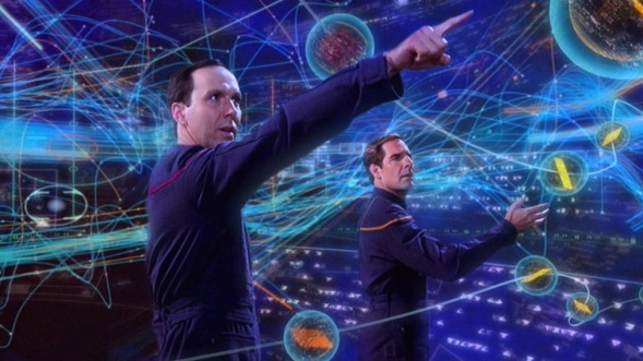 Scott Bakula, Matt Winston, Jonathan Archer, Crewman Daniels, Star Trek Enterprise