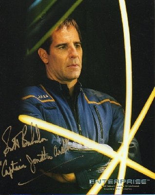 Jonathan Archer, Scott Bakula, Star Trek Enterprise, autograph