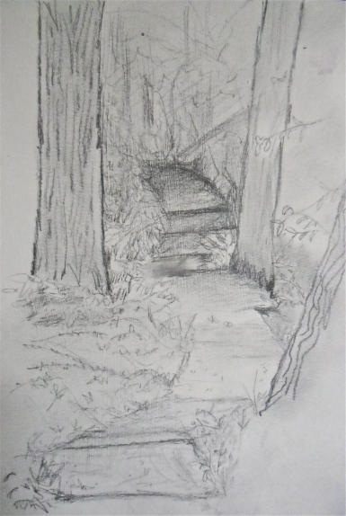 Ledges State Park Sketch