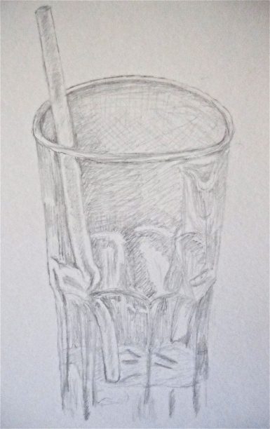 Sketch of a glass