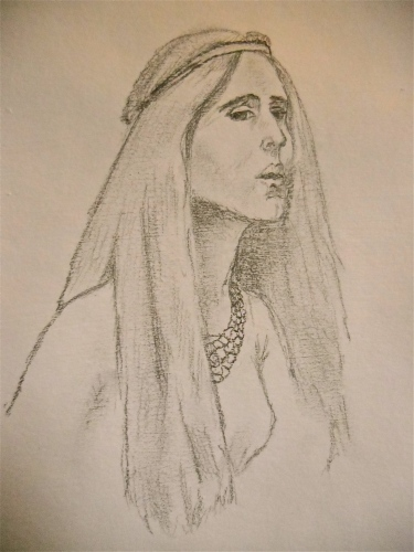 "Sketching J Waterhouse's ""Lady of Shalott"""