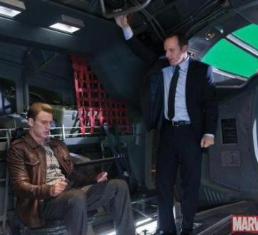Steve Rogers, Captain America, Agent Coulson, Clark Gregg, Chris Evans, Avengers