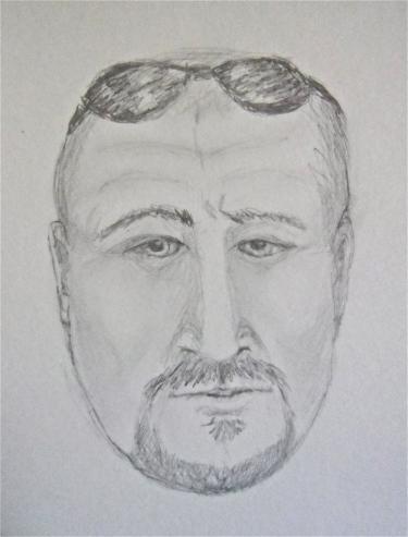 Sketch drawing portrait