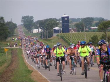RAGBRAI, Marshalltown, Iowa