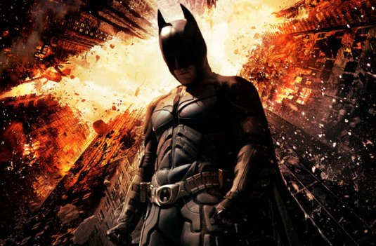 Batman, The Dark Knight Rises, Christian Bale