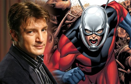 Ant-Man, Nathan Fillion, Avengers, Captain America