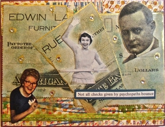 Collage Art, Greeting Cards