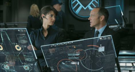 Agent Phil Coulson, Maria Hill, SHIELD, Avengers