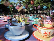 Disneyland Mad Hatter Teacup Ride