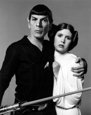 Spock, Princess Leia