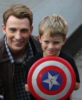 Chris Evans, Avengers, Captain America