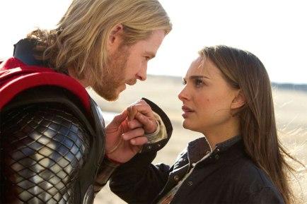 Chris Hemsworth, Thor, Natalie Portman, Jane Foster, Avengers