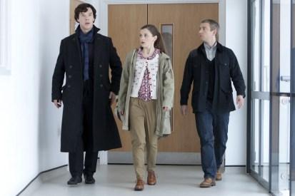 Sherlock, Martin Freeman, Benedict Cumberbatch, Louise Brealey, John Watson, Molly Hooper