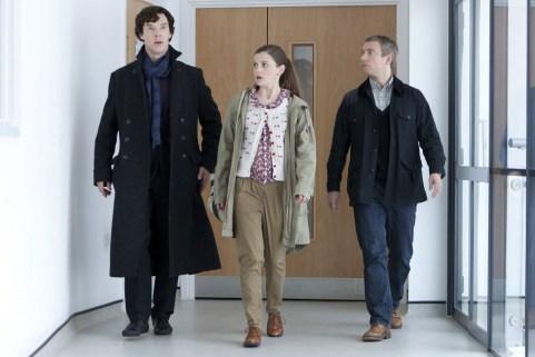Molly Hooper, Sherlock, Benedict Cumberbatch, Martin Freeman