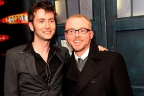 David Tennent, Simon Pegg