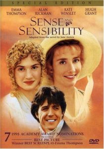 Sense and Sensibility, Emma Thompson, Kate Winslet, Hugh Grant