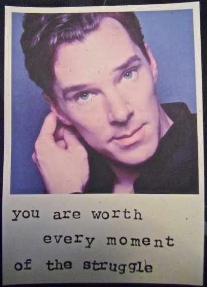 Every Moment, Benedict Cumberbatch