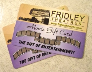 Fridley Theaters gift card