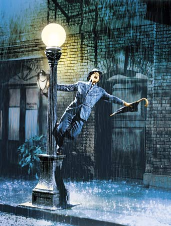 Gene Kelly, Singing in the Rain