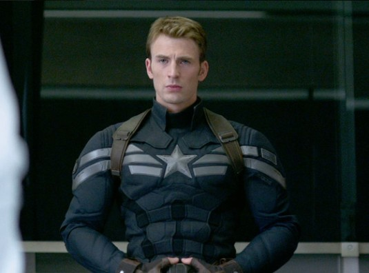 Chris Evans in Captain America—The Winter Soldier