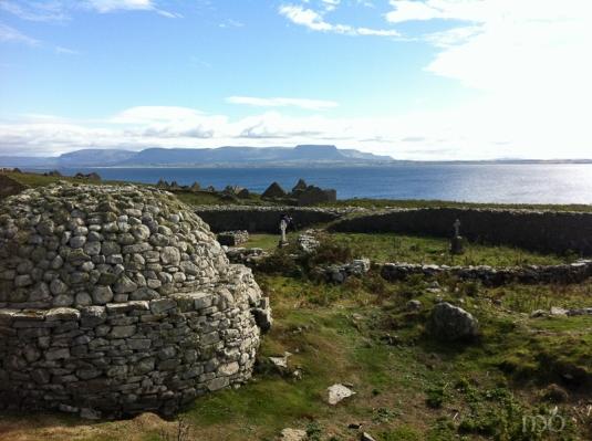 Island of Inishmurray off the coast of County Sligo