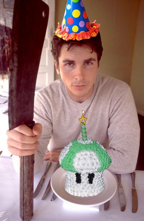 Christian Bale at the Sundance Film Festival, 2000 *** NO TABLOIDS ***