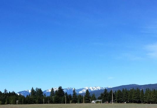 Between Spokane and Seattle